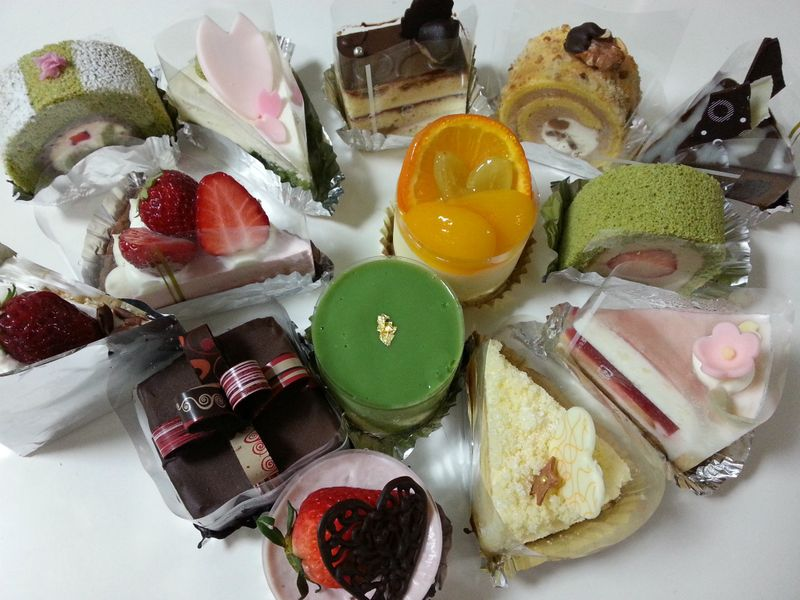 ケーキパーティーのケーキ